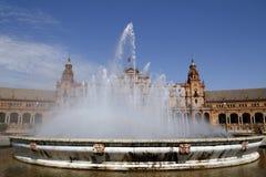 Площадь España, Севилья Стоковые Изображения