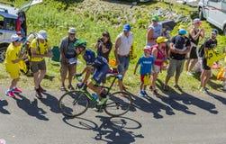 Площадь Molina - Тур-де-Франс 2016 Рубна велосипедиста Стоковые Фото