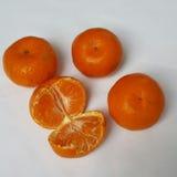Плодоовощи апельсина мандарина Стоковая Фотография