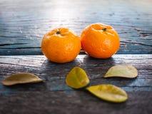 Плодоовощи апельсина пар Стоковые Изображения RF