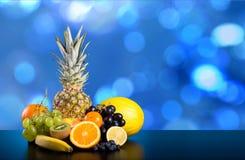 плодоовощи ассортимента экзотические стоковые изображения rf