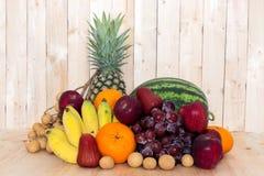 плодоовощи ассортимента экзотические Стоковая Фотография RF