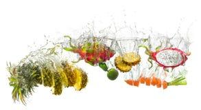 Плодоовощи брызгают Стоковое Изображение RF