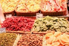 плодоовощи высушенные ассортиментом Стоковая Фотография RF