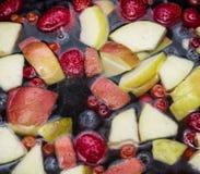 Плодоовощи в воде Стоковая Фотография RF