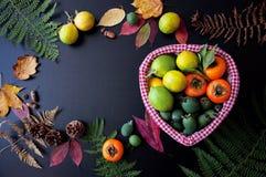Плодоовощи в корзине Стоковая Фотография