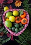 Плодоовощи в корзине Стоковое фото RF