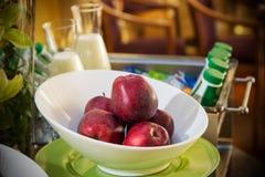 Плодоовощи завтрака гостиницы стоковое фото