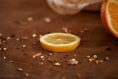 Плодоовощи - здоровые витамины на завтрак 5 Стоковая Фотография RF