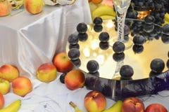 Плодоовощи на таблице Стоковые Фото