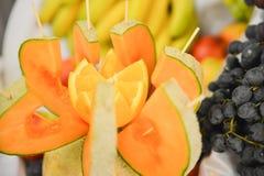 Плодоовощи на таблице Стоковая Фотография RF