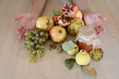 Плодоовощи осени органические стоковое фото rf