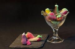 Плодоовощи сформированные марципаном Стоковая Фотография RF