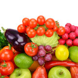 плодоовощи установили овощи Стоковые Изображения RF