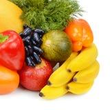 плодоовощи установили овощи Стоковое Фото