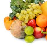 плодоовощи установили овощи Стоковые Фотографии RF