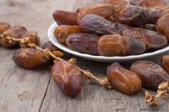 Плодоовощи финиковой пальмы или kurma, kareem ramadan Стоковое Изображение RF