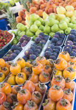 Плодоовощи Turkish конца-вверх взгляда Очень вкусные плодоовощи Turkish fruits много Стоковое Фото