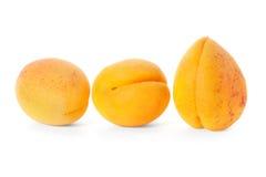 3 плодоовощ абрикоса Стоковая Фотография RF