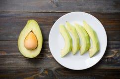 Плодоовощ авокадоа готовый для еды Стоковое Изображение