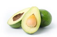 Плодоовощ авокадоа на белой предпосылке Стоковое Изображение
