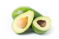 Плодоовощ авокадоа на белой предпосылке Стоковые Изображения