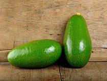 Плодоовощ авокадоа на деревянной предпосылке Стоковое Изображение