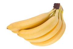 Плодоовощ банана на белизне Стоковая Фотография