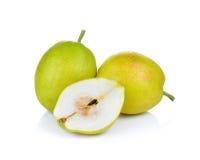Плодоовощ груши на белой предпосылке Стоковые Фото