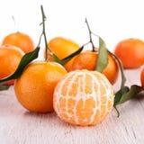Плодоовощ или tangerine мандарина Стоковое Изображение