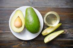 Плодоовощ и масло авокадоа Стоковые Изображения RF