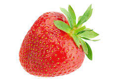 Плодоовощ клубники на белизне Стоковая Фотография RF