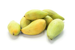 Плодоовощ манго изолированный на белой предпосылке Стоковая Фотография