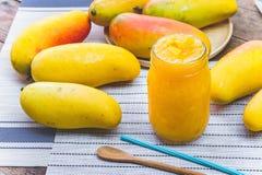 Плодоовощ манго, манго плодоовощ напитка smoothies манго Стоковое Фото