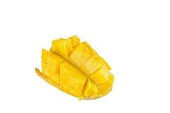 Плодоовощ манго отрезал в части Стоковые Фото