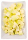 Плодоовощ определенный размер укусом меда росы v Стоковое Изображение RF