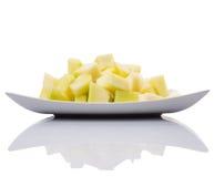 Плодоовощ определенный размер укусом меда росы x Стоковые Фото