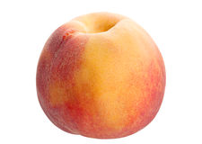 Плодоовощ персика на белизне Стоковые Фото