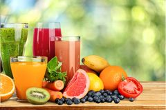 Плодоовощ, питье, виноградина Стоковые Изображения