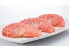 Плодоовощ помела Сиама рубиновый Стоковые Изображения