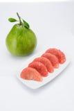 Плодоовощ помела Сиама рубиновый Стоковые Изображения RF