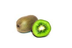 плодоовощ предпосылки близкий изолировал киви над поднимающей вверх белизной Стоковое фото RF