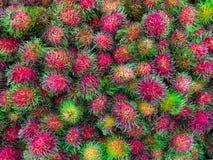Плодоовощ рамбутана Стоковое Фото