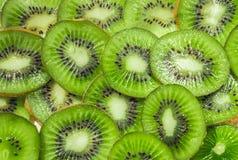 плодоовощ тропический Зеленый отрезанный киви, Стоковые Фотографии RF