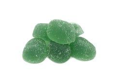 плодоовощ формы цитруса конфет предпосылки изолировал дольки студня студней белые Стоковые Фотографии RF