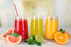 Плодоовощ cocktail Стоковые Фото
