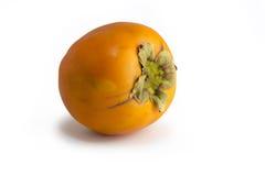 Плодоовощ Kaki, изолированная предпосылка Стоковые Изображения RF