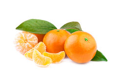 Плодоовощ Tangerine Стоковые Изображения RF