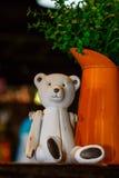 Плюшевые медвежоата, кукла a, кукла a Таиланда Стоковые Изображения RF