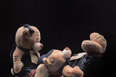 Плюшевые медвежоата Стоковое Фото